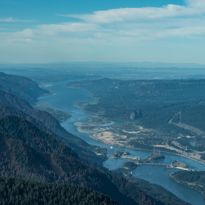 Portland and Columbia River Gorge Aerial Tour