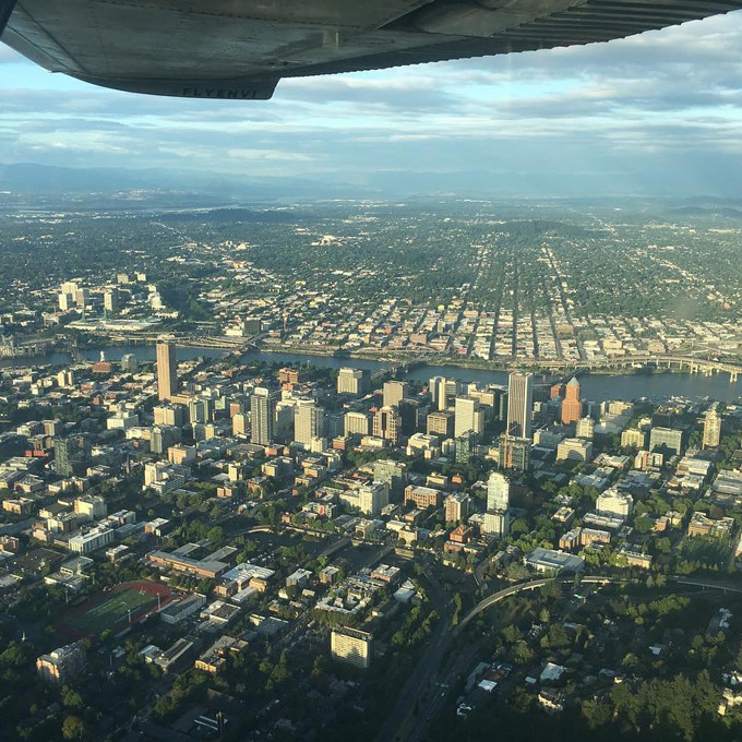 Private Aerial Tour in Portland