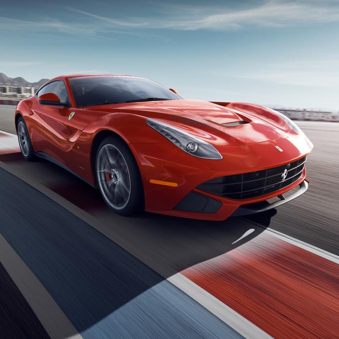 Race a Ferrari in Las Vegas
