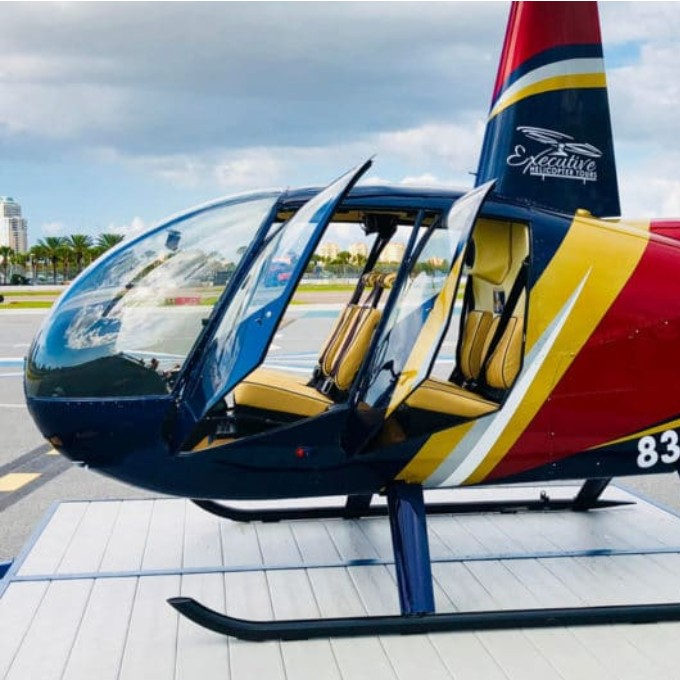 Scenic Helicopter Tour from St. Petersburg, FL