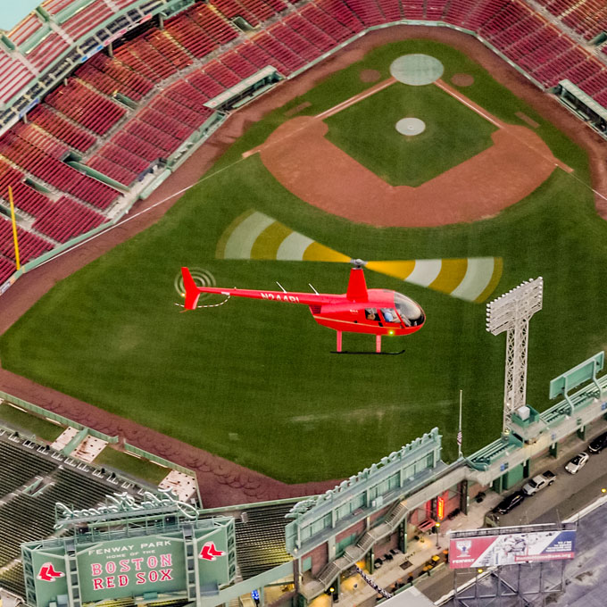 Fenway Park Helicopter Tour