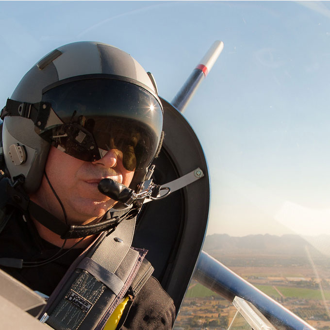 Air Combat Flying Experience