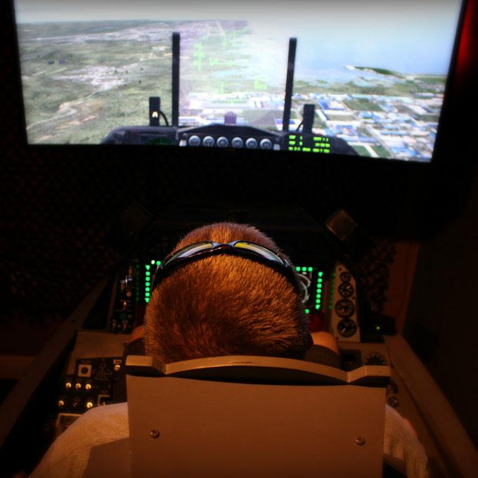 Fly a Fighter Jet Flight Simulator in Tampa Bay