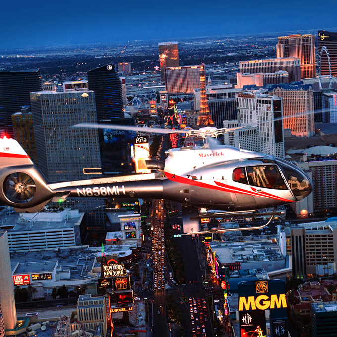 Soar Over the Strip
