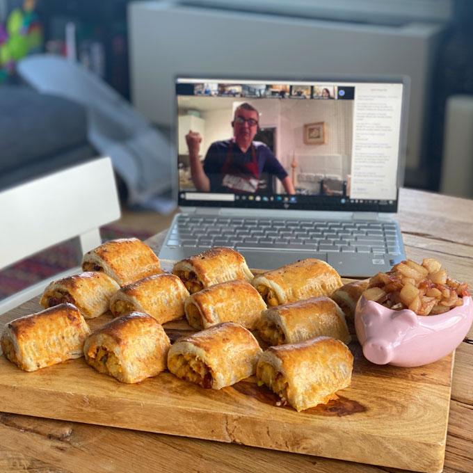 Online Baking Lesson