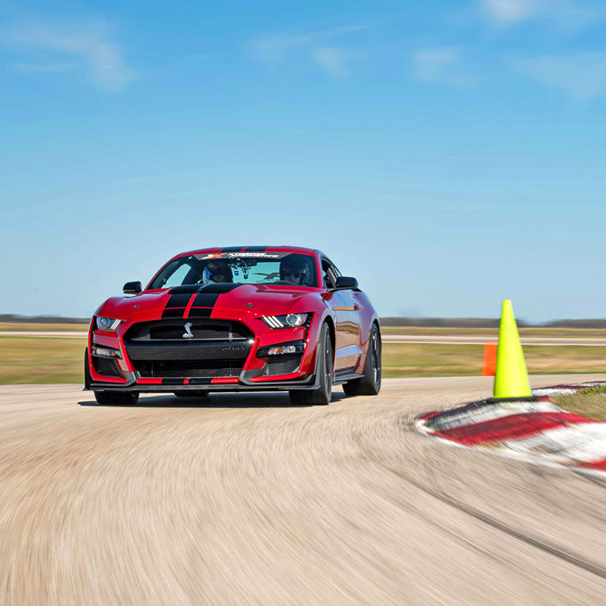 Race a Ford Mustang Shelby GT500 in Los Angeles