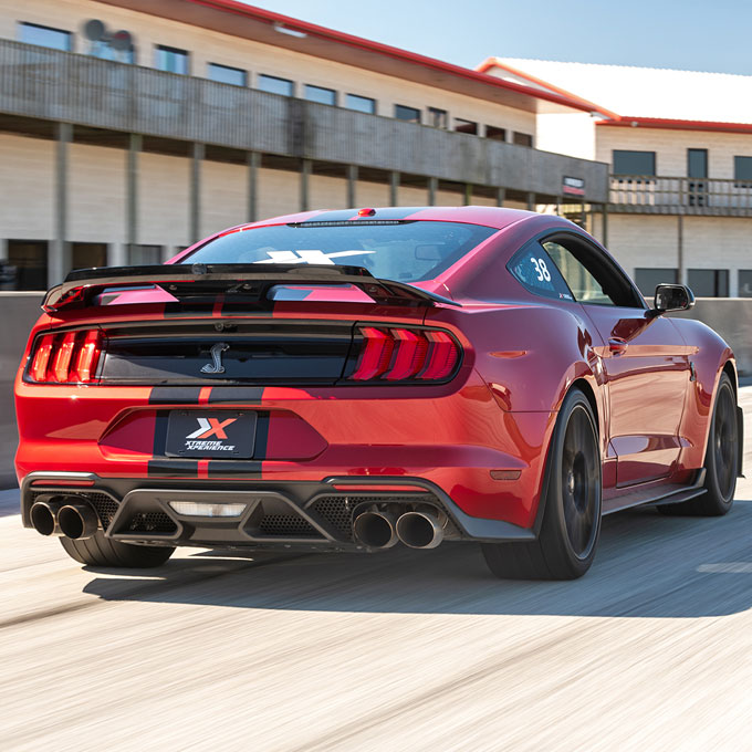 Race a Mustang Shelby at a Real Race Track