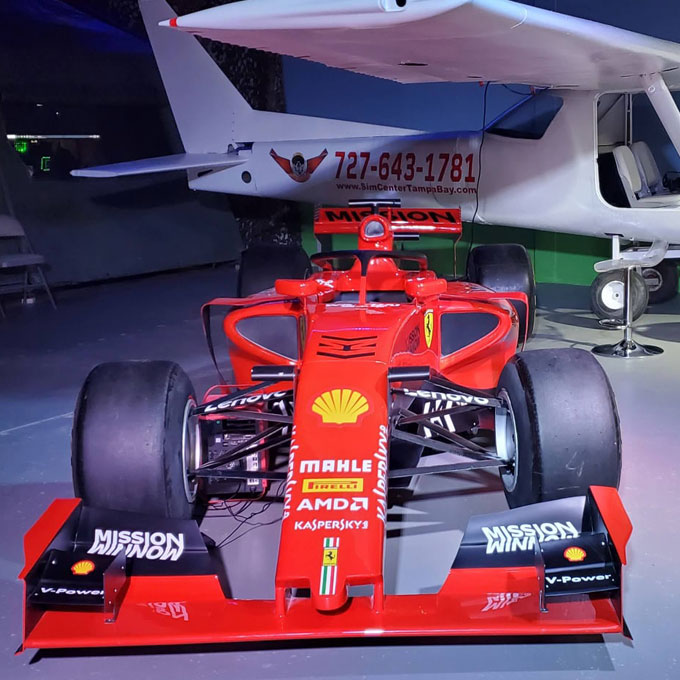 Race a Formula 1 Car Simulator Experience