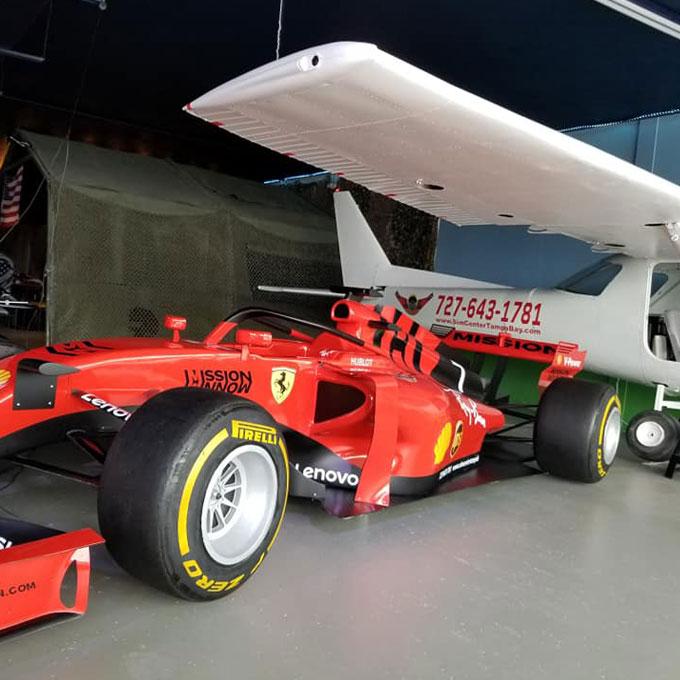 Race Car Driving Simulator near Tampa, FL