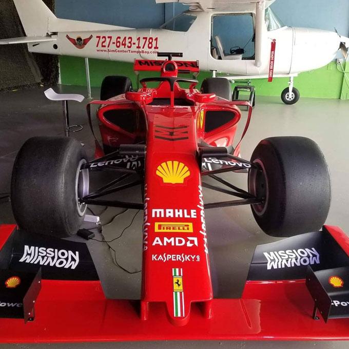 Formula 1 Race Car Simulator in Tampa Bay