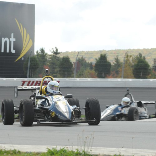 Racing a Formula 2000 Car in New Jersey