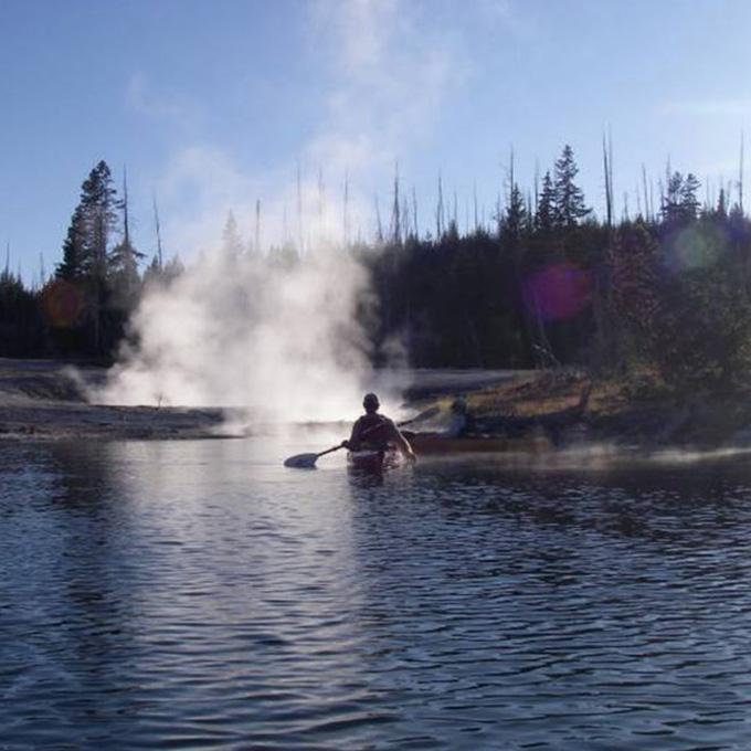Yellowstone Lake Kayaking