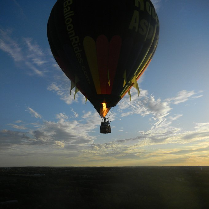 Shared Hot Air Balloon Ride near Cincinnati