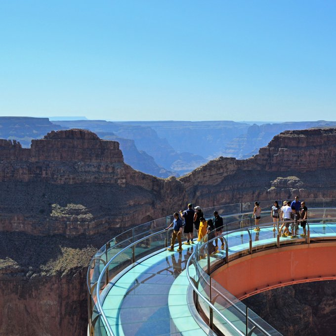 Helicopter Tour to Skywalk Grand Canyon from Las Vegas