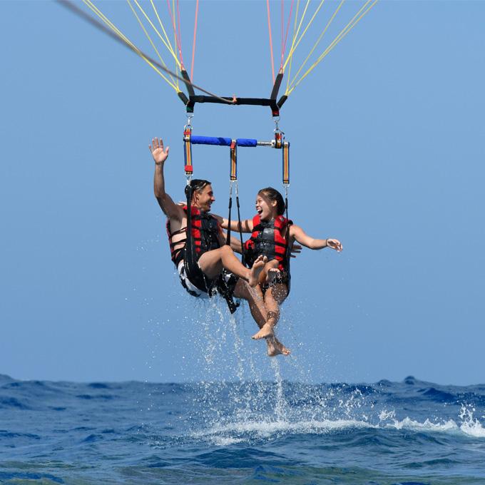 Take A Dip Before Flying High
