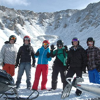 Group Shot of Performance Snowmobiling