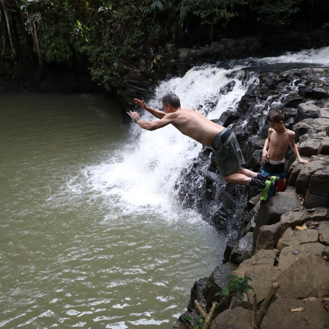 Waterfall Walk in Maui