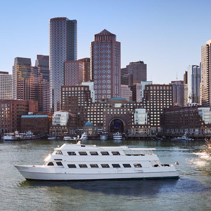 Brunch on Boston Harbor