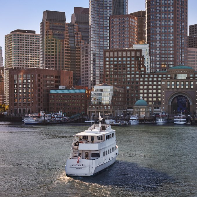 See Boston from the Water
