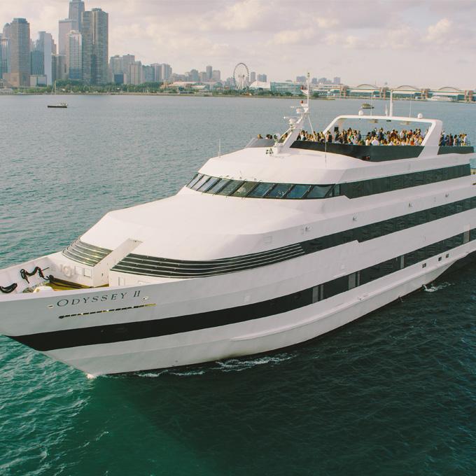 Lunch Cruise on Lake Michigan