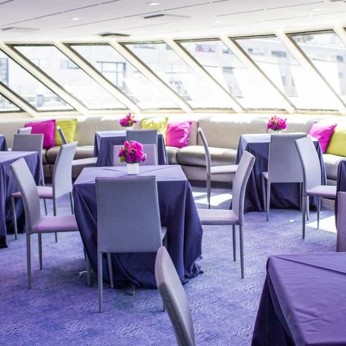 Champagne Brunch Cruise Interior