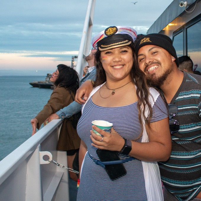 Guests on San Francisco Lunch Cruise