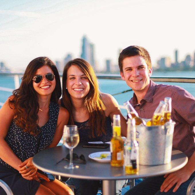 Dinner Cruise New Jersey Deck