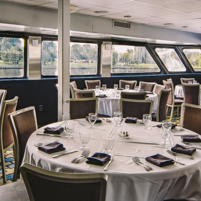 Interior of Gourmet Lunch Cruise