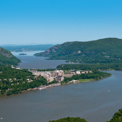 Views of West Point during Hudson River Tour