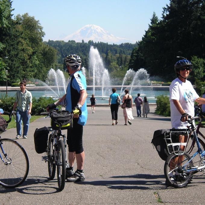 Bike Historic Neighborhoods in Seattle