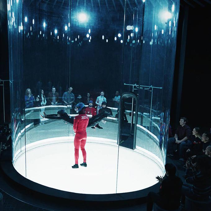 Dallas Indoor Skydiving Experience