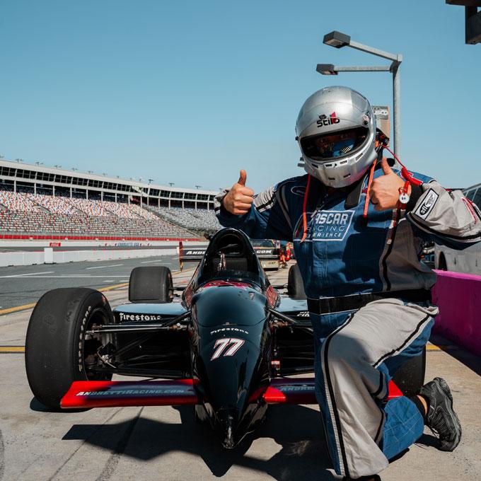 Race an Indy Car near Boston