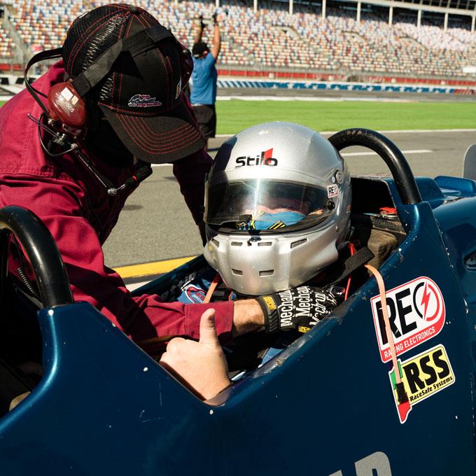 Indy Car Ride Along in Las Vegas