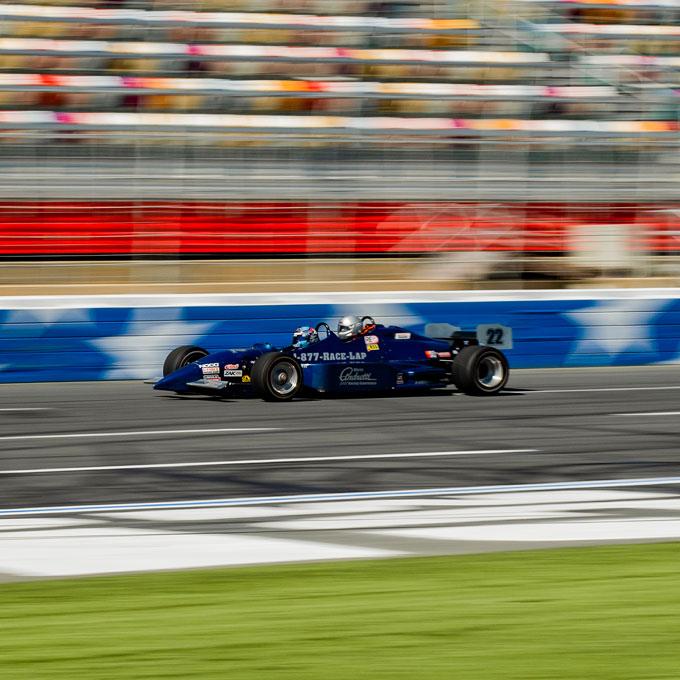 Race an Indy Car in Dallas