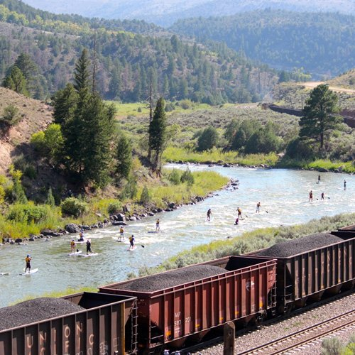 Colorado River Paddleboarding