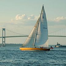 Sailing in Newport