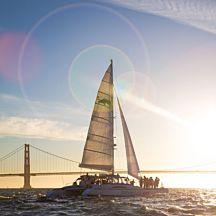 Sunset Catamaran Cruise in San Francisco