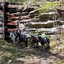 Take a Horseback Ride in Cave City