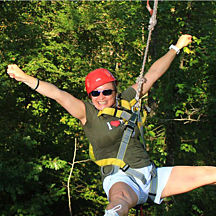 Ziplining in Virginia Beach