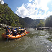 Rafting Lower Gauley River