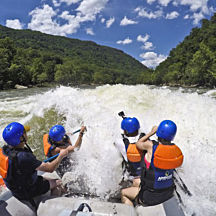 Whitewater Raft the Lower New River