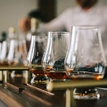 Sip on a Bourbon Flight