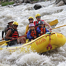 Zipline and Whitewater Rafting Adventure near Colorado Springs