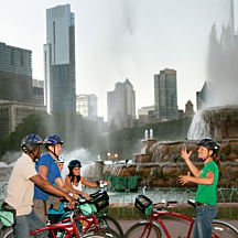 Bike tour of Chicago