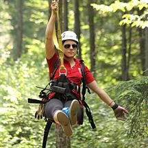 Mountain Top Zipline Adventure in Massachusetts