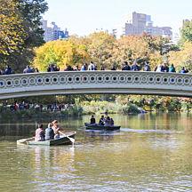 Rowboat Ride at Central Park New York