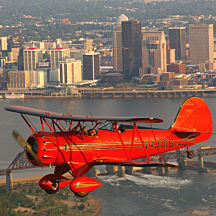 Soar Over Louisville in a Biplane