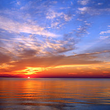 See the Sunset in Door County in a New Way