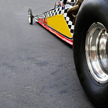 Side-by-Side Dragster Race at Summit Motorsports Park