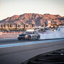 Drifting Thrill Ride Along in Las Vegas